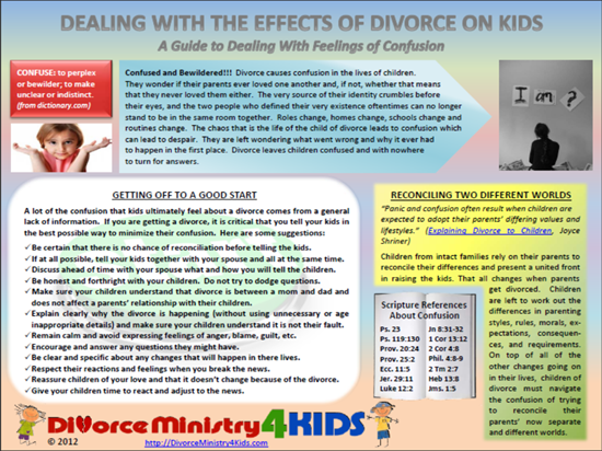 Impacts of divorce on adults